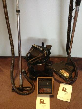 Rainbow Vacuum Cleaner and attachments - $175 (Somerville, TX)