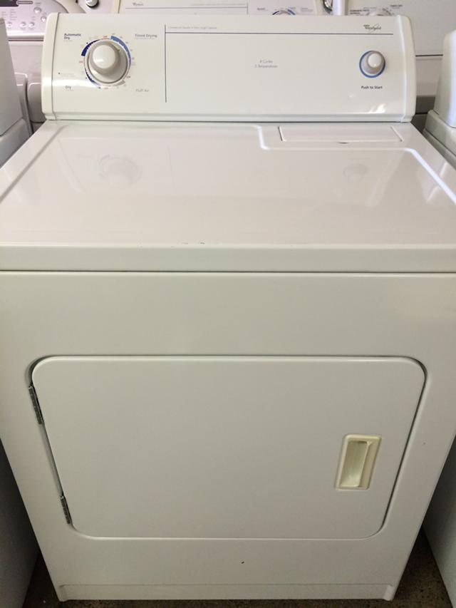 200  Whirlpool Electric Dryer in White