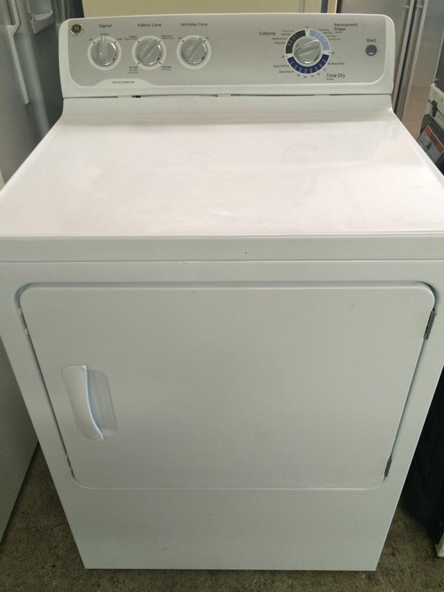 240  GE Electric Dryer in White