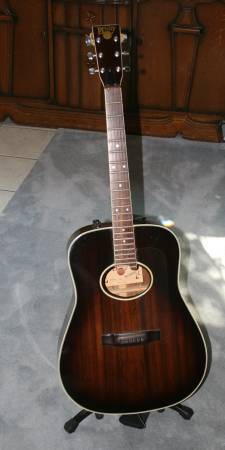 Bently Acoustic Electric Guitar - $135 (College Station)