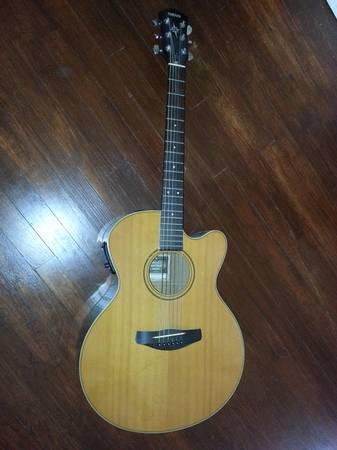 Yamaha CPX-5 YN Acoustic Electric Guitar - $60 (College Station)