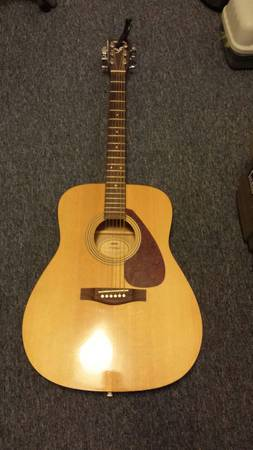 Guitar - Yamaha F-315A - $150 (College Station)