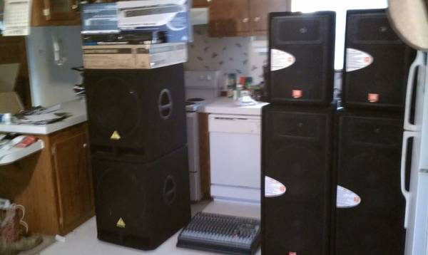 Full Sound System for band OR bar (College Station)
