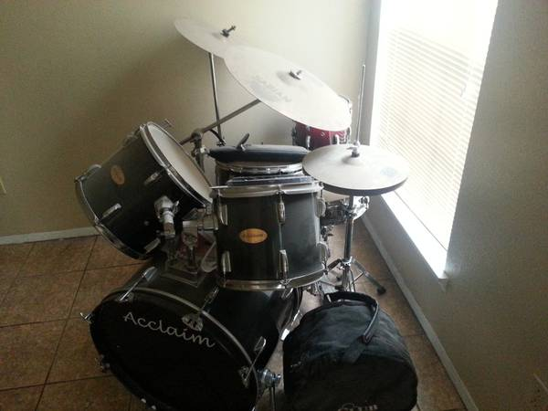Acclaim Drum set, Extras - $350 (College Station)