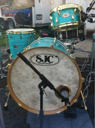 CUSTOM DRUMS SJC - $1000 (Austin)