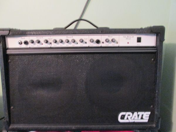CRATE COMBO AMP - $149 (N. HOUSTON)