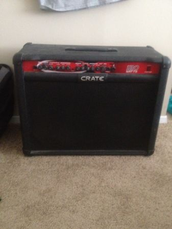 120 Watt FXT120 Crate Amplifier - $100 (College Station)