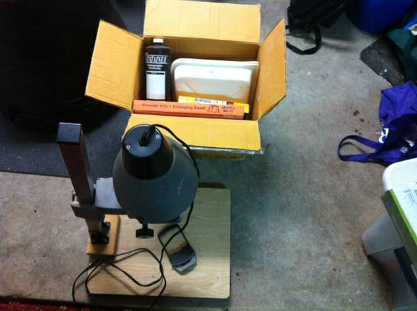 Bogen photo enlarger -   x0024 50  College Station