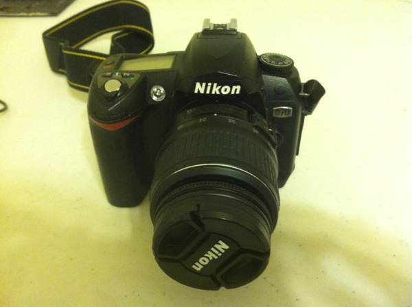 Nikon D70 w  many extras  270 -   x0024 270  College Station