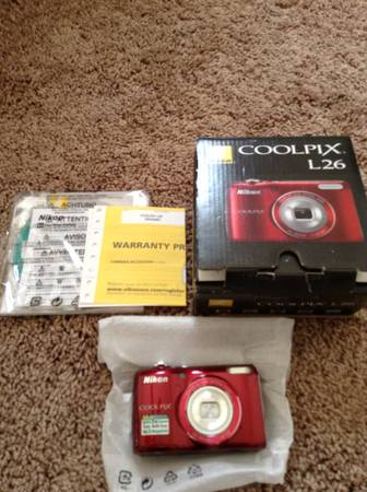New  Nikon COOLPIX L26 16 1 MP Digital Camera with 5x Zoom -   x0024 65  College Station
