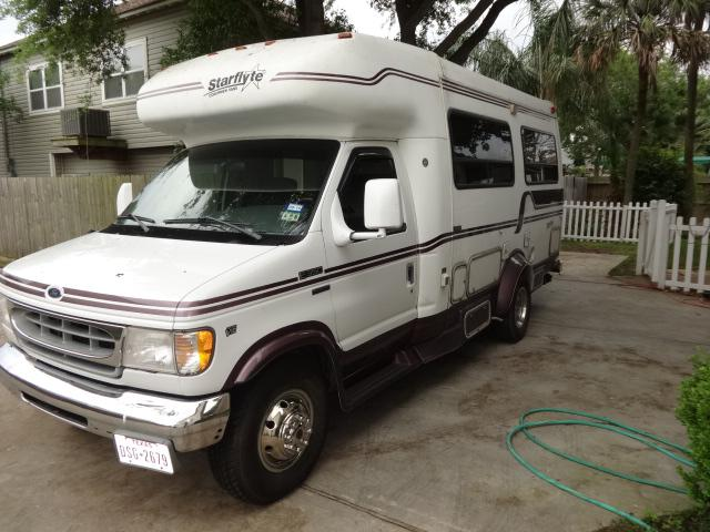 15 500  1997 Coachman Starflyte Motorhome w25 000 miles 15 500 trade for motorcycle and cash