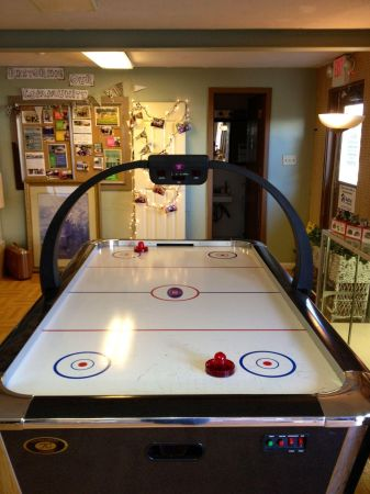 Tournament choice air hockey table espotted - Tournament air hockey table ...