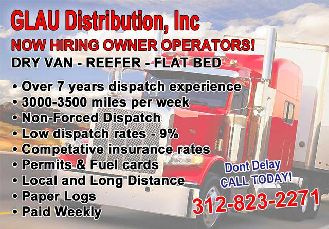 CDL Truck Owner Operators WANTED  Fantastic Pay