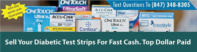 Extra diabetic test strips-----I pay top dollar  60 per box