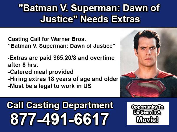 Batman V  Superman Dawn of Justice Needs Extras