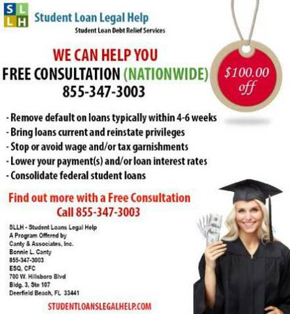 10032 Student Loan Consolidation Company to Help w Default  10032   Nationwide