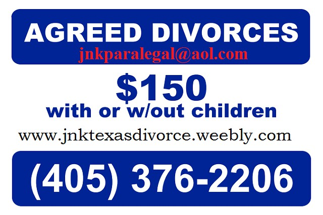 Agreed DIVORCE -  150 Low Cost Uncontested Divorces