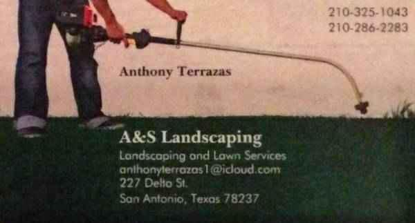 Affordable lawn care AS Landscaping san antonio