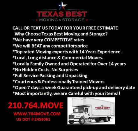 Licensed  Insured Movers Openings Avaliable Call Now