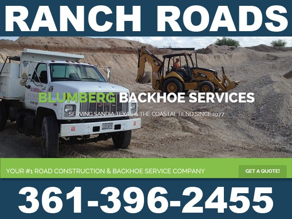 Texas Ranch Roads - Construction  Repair
