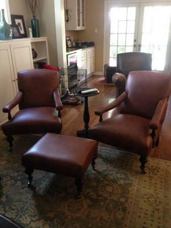 Upholstery Service Chairs  Benches  Ottomans  Bar Stools  and work with leather  cowhide  and fabric