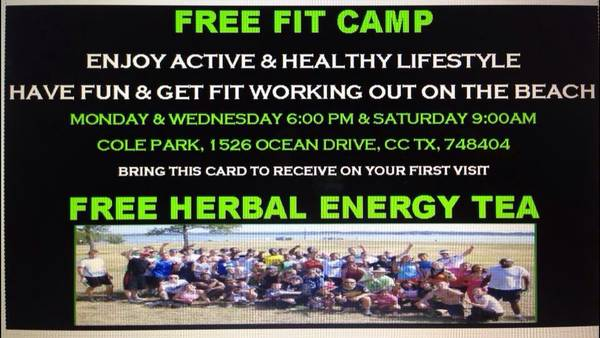 FREE FITCAMP WORKING OUT     CORPUS CHRISTI