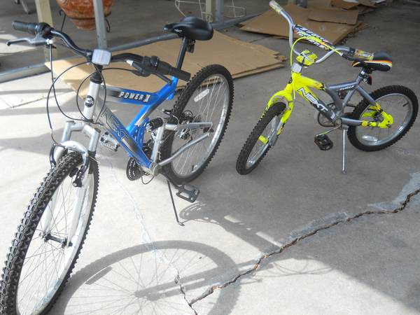 18 in and 26 in bikes -   x0024 30  southside corpus christi