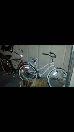 2 Huffy beach cruiser bikes - $150 (southside)