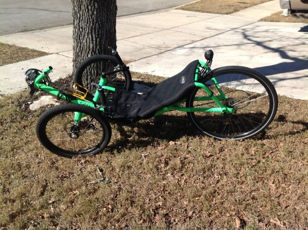 2009 Catrike Expedition Recumbent Trike - $1750 (Boerne, TX)