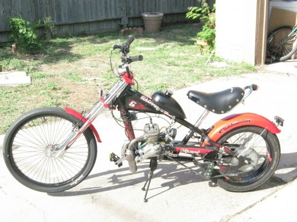 Motorized Schwinn Stingray OCC Chopper Bicycle - $350 (Southside)