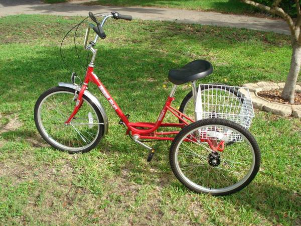 MIAMI SUN 3 WHEEL BICYCLE - $300 (5009 MOULTRIE DR)