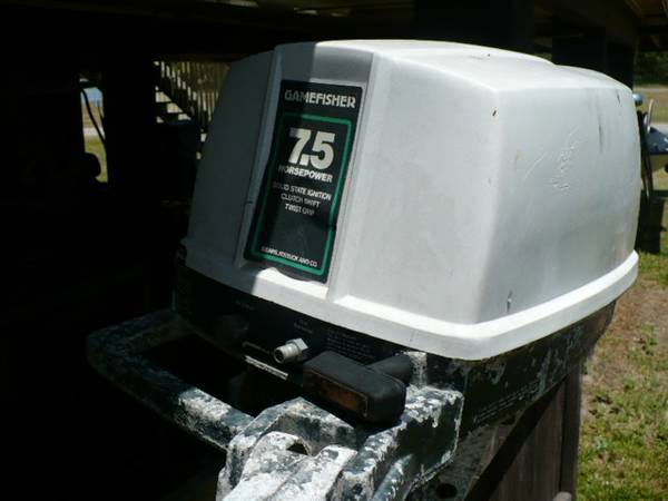 7.5hp Gamefisher Outboard - $100 (Ingleside on Bay)