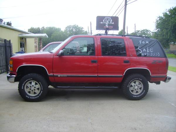 95 CHEVY TAHOE FOR TRADE - $3500 (SOUTH SIDE CORPUS)