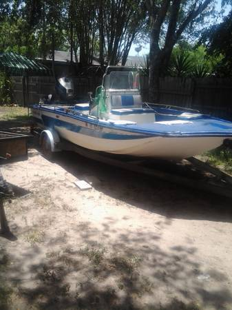 Today ONLY 188 red fin flats boat - $2500 (alice)