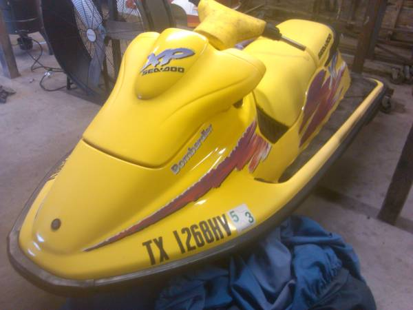 96 SEADOO XP PARTS SKI - $350 (FB)