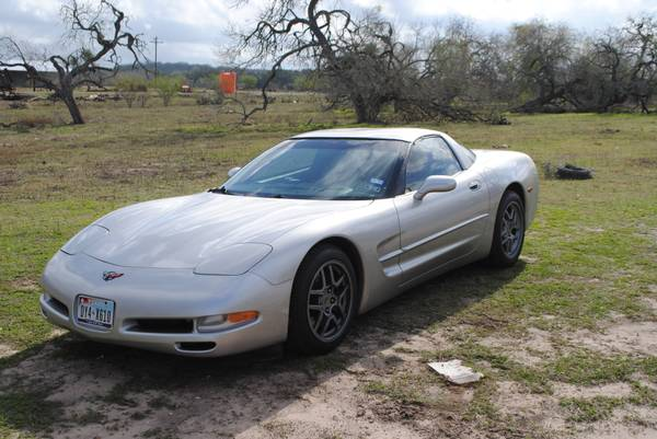 my vette for your boat - $18000 (victoria)