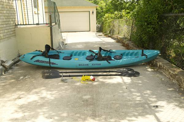Ocean Kayak Malibu Two - 2 person on 1 person - $375 (San Antonio)