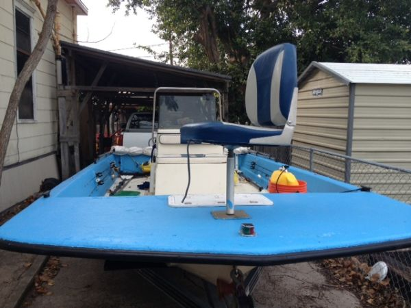 96 Dargel Skout Flat Bottom Fishing Boat - $9000 (Corpus Christi)