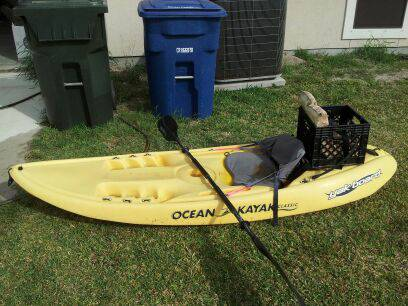 8ft. Ocean Kayak Yak Board - $200 (Flour Bluff)