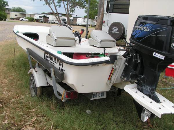 Bay Boat - Carolina SkiffTohatsu 40HP - $6000 (ZapataHarlingen)