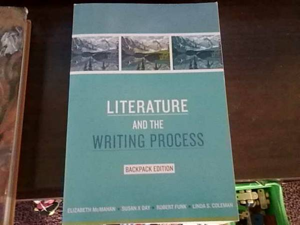 Del Mar College English book   Literature and the Writing Process  -   x0024 10  Tuloso