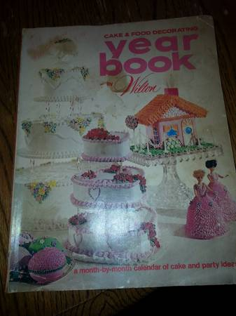 old wilton cake decorating magazine  -   x0024 5  calallen