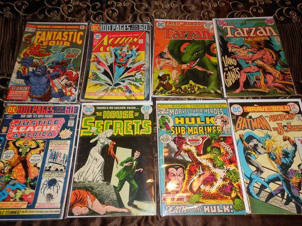 VINTAGE COMIC SALES- Marvel  Dc  Charlton  etc -   x0024 1  corpus