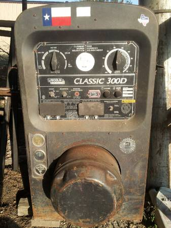 Lincoln Classic 300D welder for sale - x00247000 (Alice,TX)
