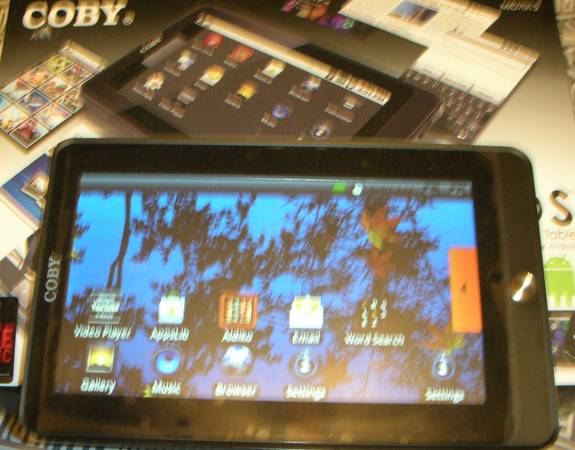 kyros 7 internet touchscreen tablet - $100 (fb)