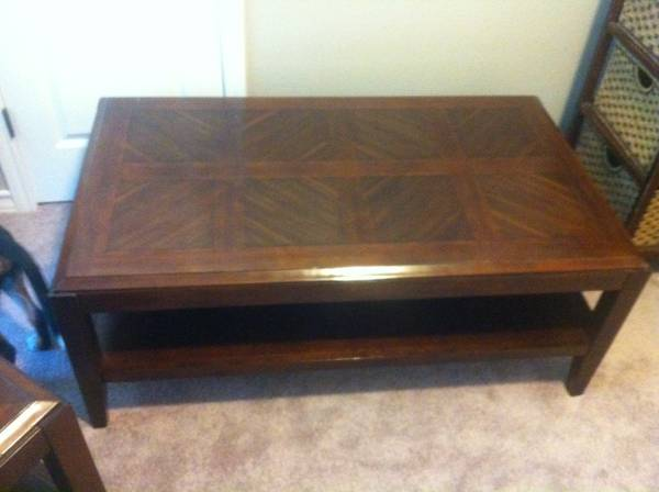 Furniture Leather Couch and chair, BBQ pit, Coffee table, End tables (South Side CC)