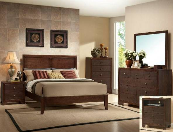 queen bedroom set - $699 (empire furniture)