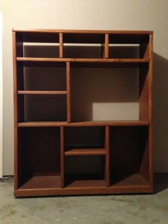 Oak Entertainment Center - $50 (CC Southside)