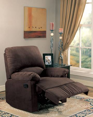 microfiber recliner - $199 (empire furniture)
