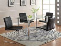 modern dining set - $439 (empire furniture)